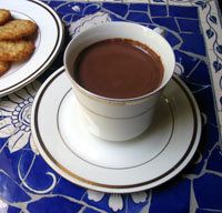Spanish Hot Chocolate - Chocolate Caliente