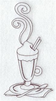 Machine Embroidery Designs at Embroidery Library! - Food and Wine (Quick Stitch)
