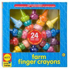 Alex Toys Farm Finger Crayons