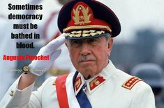 | #history | via @learninghistory History Quotes, Us Government, Armed Forces, Firefighter, Captain Hat, Military, Heroines, Chile, Presidents