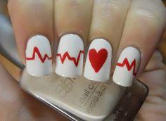 Heart Monitor Nails.