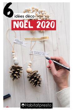 Noël 2020 : 6 idées de décorations de Noël à réaliser soi-même #noel #noel2020 #noeltendance #noeldeco #deconoel #deconoelnature #deconoeldiiy #deconoelmaison #deconoelafabriquer #noeldiy #noelcadeauxidées #noelcadeau #noelcadeaufaitmain #noeldécoration #noelcadeausapin #noelcadeausapin #cadeauxnoel #cadeauxnoelfaitmain #cadeauxnoeldiy #cadeauxnoelidees #cadeauxnoel Deco Noel Nature, Decoration Originale, Theme Noel, Ornaments, Garlands, Nice Asses, Christmas Decorations, Ornament, Decor