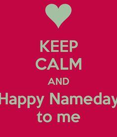 Happy nameday!