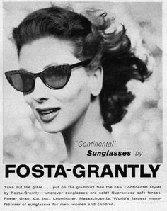 Foster Grant-LOVE the shades she's wearing, I want a pair!
