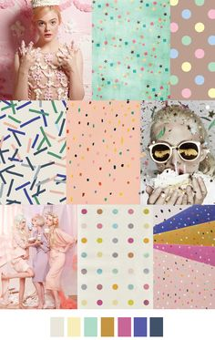 by patterncurator #confetti, #design, #dots, #fashion, #inspiration, #inspo, #mood, #moodboard, #pastel, #pattern, #print, #spring2016, #trend, #trendwatch