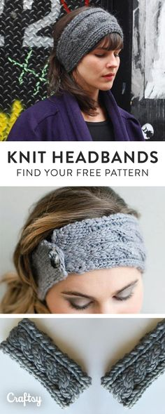 Our favorite knit headband and earwarmer patterns to keep you cozy this Fall. Did we mention they're 100% free?!