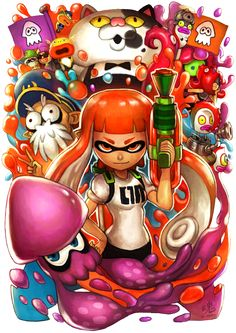 Being a recent fan of the game Splatoon, Im very happy with Nintendo making a new IP. The game is very unique and I fell in love with the character design, the game had a futuristic Japanese city f...