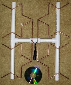 make your own long range fractal tv antenna - Google Search