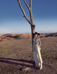 Harper's Bazaar US March 2016 Model: Laura Julie Photographer: Camilla Akrans Fashion Editor: Alissa Santisi
