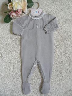 PELELE GRIS | Pardalets - Ropa para tu bebe