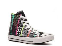 Converse Chuck Taylor All Star Rockin' Print High-Top Sneaker USD25 NRack neon . Summer 2013