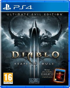 Diablo 3 III Reaper of Souls Ultimate Evil Edition PS4 Sony PlayStation 4 NEW  Item specifics  Condition:  Brand New: An item that has never been opened or removed from the manufacturers sealing (if applicable). Item  Platform:  Sony PlayStation 4  Region Code:  Region Free PAL  Release Year:  2014  Country/Region of Manufacture:  United Kingdom  Rating:  M  Mature  UPC:  5030917144486  Game Name:  Diablo III: Reaper of Souls  Diablo 3 III Reaper of Souls Ultimate Evil Edition PS4 Sony…
