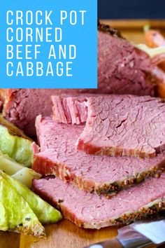 Crockpot Corned Beef and Cabbage – Best Recipes Quick Lunch Recipes, Simple Recipes, Special Recipes, Healthy Cooking, Easy Dinner Recipes, Healthy Dinner Recipes, Cooking Tips, Healthy Snacks, Breakfast Recipes