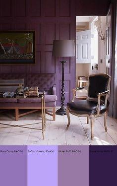 Plascon Purple Colour Sample