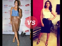 Parineeti Chopra is infamous for her fashion faux pas while Lisa Haydon sticks to the tried and tested method. Check out the two Bollywood ladies pairing a differently coloured faux-leather skirt from Zara for an effortlessly chic style. Tell us in the comments below who you think takes the style cake.