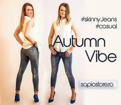 Look preferat de Toamna! ☺🎀 Stylish Outfits, Personal Style, Feminine, Glamour, Skinny, Elegant, Casual, Clothing, Pants