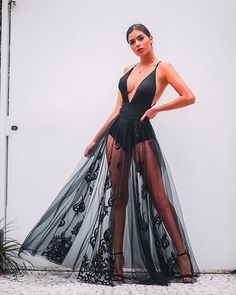 Charming Sexy Sequin Sparkly Simple Rose Gold and Black Split Fashion Popular Prom Dresses, Evening dresses Grad Dresses, Sexy Dresses, Nice Dresses, Dress Outfits, Evening Dresses, Fashion Dresses, Formal Dresses, Beachwear Fashion, Lace Dress