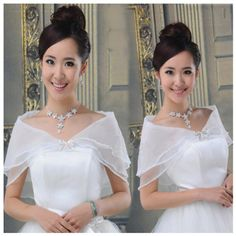 Cheap wrap wedding, Buy Quality bolero bridal directly from China bridal coats Suppliers: White Black Red Ivory Party Cocktail Seersucker Shrug Bolero Bridal Coat Bride Wrap Wedding Accessories Shawl Wedding Shrug, Bridal Bolero, Wedding Jacket, Seersucker Wedding, Wedding Wraps, Here Comes The Bride, Formal Dresses, Wedding Dresses, Wedding Accessories