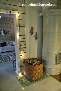 Vanhan talon tunnelmaa New Home Designs, Scandinavian Interior, Old Houses, Interior Inspiration, Modern Farmhouse, Building A House, Sweet Home, Cottage, House Design