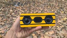 DIY ultra-portable wireless speaker with impressive bass and portable design.
