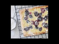 Made-from-Scratch, Ricotta-Berry Tart by Cooking with Manuela My Recipes, Sweet Recipes, Cookie Recipes, Dessert Recipes, Favorite Recipes, Recipies, Italian Desserts, Just Desserts, Cooking Kits For Kids