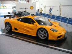McLaren F1 LM Orange Supercar Hypercar Top 10 Supercars http://supercarlegend.com/