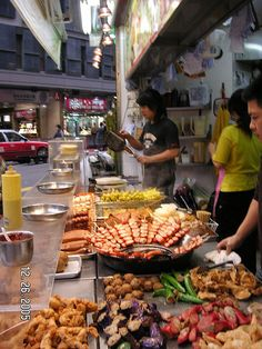 Hong Kong street food   - Explore the World with Travel Nerd Nici, one Country at a Time. http://TravelNerdNici.com