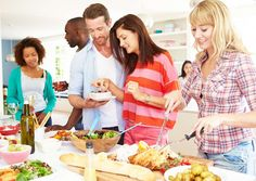 The idea of inviting friends over for a home-cooked meal may seem daunting. What with work, family, ... - Monkey Business Images/shutterstock