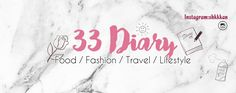 """My Blog, the """"33 Diary""""! Go check it! I share life, food, fashion, shopping haul, travel, beauty, design and music. I'm 33(Shan), a blogger from Taiwan! http://whichshan831.pixnet.net/blog"""