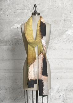 Modal Scarf - gold and brown by VIDA VIDA hERLq5M