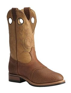 Boulet Men's Super Roper Cowboy Boot Round Toe Bay Apache US Boulet http://www.amazon.com/dp/B00AI1F28G/ref=cm_sw_r_pi_dp_mSbxub1T5B2FD