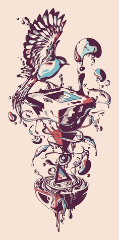 Illustrations by Norman Duenas http://normanduenas.com/Illustration