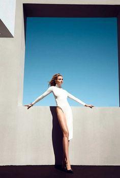 Cameron Diaz for the magazine Harper's Bazaar US, August 2014