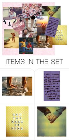 """""""And if you're in love, then you are the lucky one."""" by amberrolfe ❤ liked on Polyvore featuring art"""