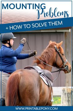 Getting on and off your horse isn't something you really even think about… until it goes really wrong.   Here's the story behind how my horse suddenly developing a mounting problem... and how I fixed it!