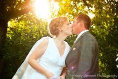 Trinity Bennett Photography- Sunset wedding photos. Please go like my page- https://www.facebook.com/pages/Trinity-Bennett-Photography-and-Productions/201646339851533