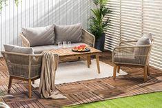 Morocco Sofagruppe - Akasie/Brun/Beige | Trademax.no Outdoor Furniture Sets, Outdoor Decor, Morocco, Exterior, Home Decor, Garden, Brown Beige, Homemade Home Decor, Garten
