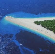 Image result for zlatni rat beach brac croatia