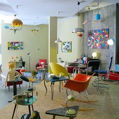 #vintage #deco #fifties #sixties #rockabilly #scandinavian #spaceage #decoracion #interiorismo #antiques #zamora en chachiandchachi Os esperamos