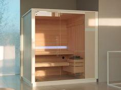 effegibi logica sauna and hammam seamlessly adapts to perfect spa spaces Modern Bathroom Decor, Bathroom Spa, Bathroom Interior, Bathroom Ideas, Saunas, Design Sauna, Finnish Sauna, Spa Rooms, Turkish Bath