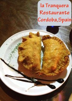 Empanada at La Tranquera, an Argentinian restaurant in Cordoba. Just one of the tasty treats on the menu.