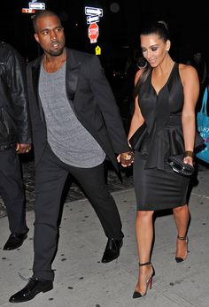 """Kanye West's Grandfather Disapproves Of Marriage To Kim Kardashian """"I don't do weddings"""" ~ @Gossipwelove"""