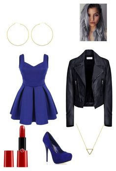"""She Wore Blue Velvet"" by victoria-dewolf on Polyvore"