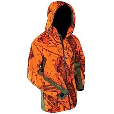 Hunting Camping Gear Scent Tree Oak Break Up Black Green camo Jacket Coat Hoodie #YukonGear #Vest