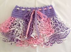 Ravelry: Child's Crochet Ruffle Skirt 18m-2T pattern by Leanna Booth