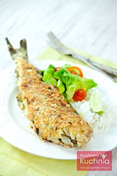 #Ryba w płatkach migdałów. Dorsz lub pstrąg z migdałami, smażony na klarowanym maśle.  http://pozytywnakuchnia.pl/ryba-z-migdalami/  #kuchnia #przepis