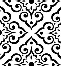Tile Medallion 2 on Reusable Laser-Cut by PearlDesignStudio Stencil Patterns, Stencil Designs, Tile Patterns, Laser Cut Stencils, Tile Stencils, Stenciling, Ceramic Painting, Fabric Painting, Textiles Techniques