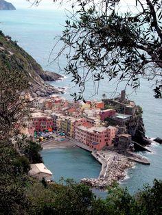 Cinque Terra Italian Seaside village