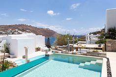 Luxury Suites, Vibrant Colors, Colours, Private Pool, Mykonos, Luxury Travel, Villas, Pools, September