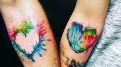 Best friend or mother daughter tattoos!